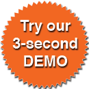 Try Our 3 Second Demo